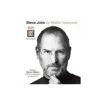 Steve Jobs (Abridged) (Compact Disc)