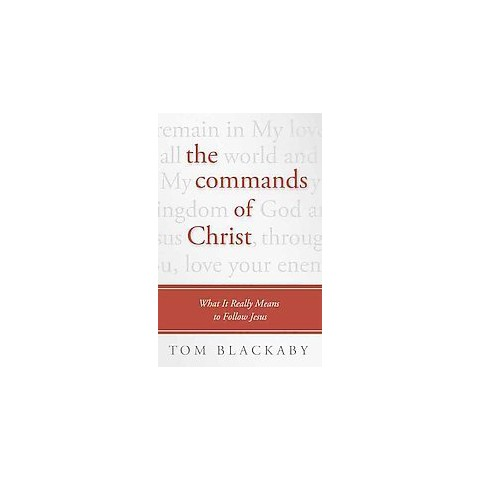 The Commands of Christ (Large Print) (Paperback)