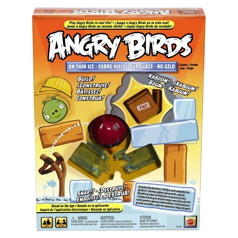 Mattel Angry Birds On Thin Ice Game