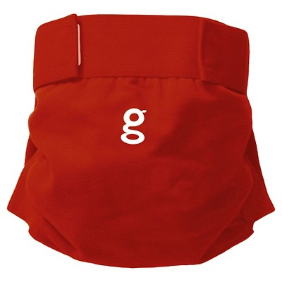 gDiapers gPants - Good Fortune Red, Large