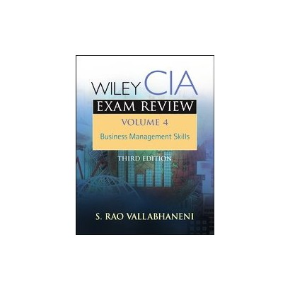 Wiley CIA Exam Review, Business Management Skills (4) (Paperback)