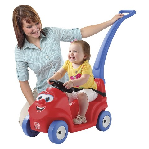 Step 2 Smile and Ride Buggy - Red/Blue