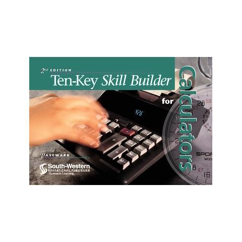 Ten-Key Skill Builder for Calculators (Paperback)