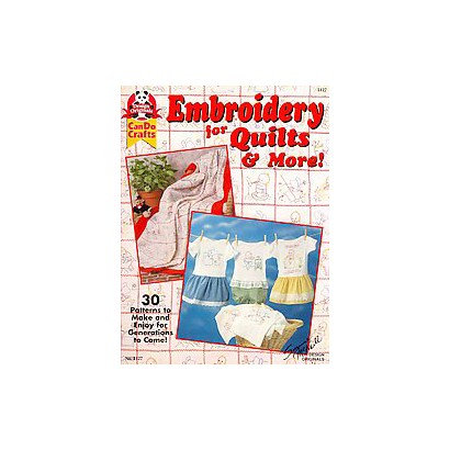 Embroidery Quilts & More! (Paperback)