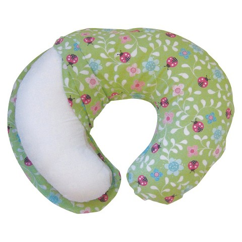Boppy Fabric Slipcover for Nursing Pillow - Green Ladybug