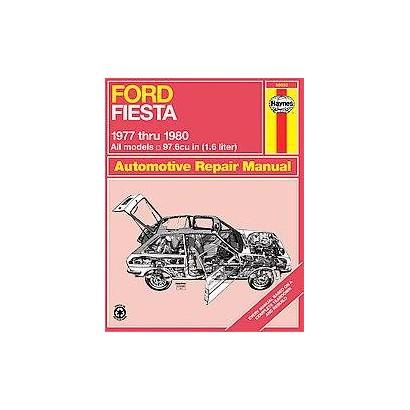 Ford Fiesta Automotive Repair Manual, 1977-1980 (Paperback)