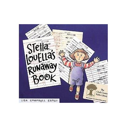 Stella Louella's Runaway Book (Reprint) (Paperback)
