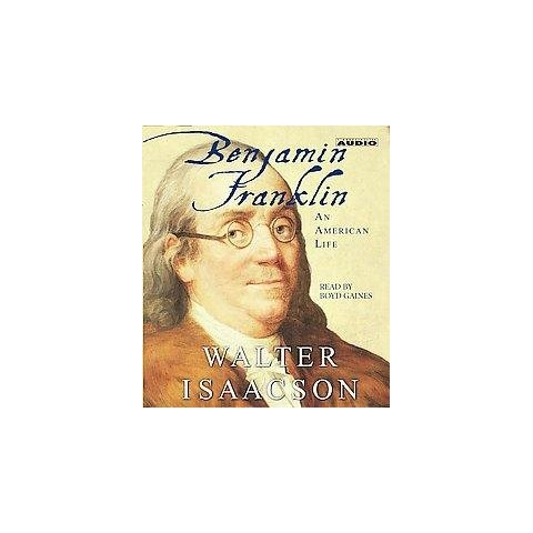 Benjamin Franklin (Abridged) (Compact Disc)