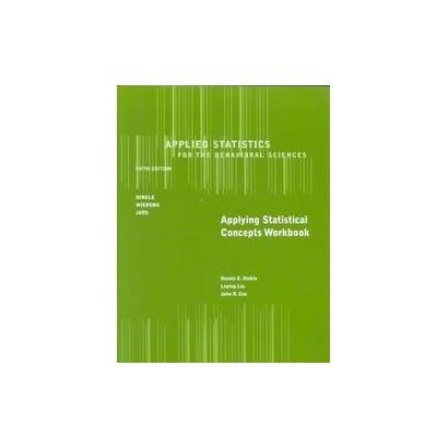 Applied Statistics for the Behavioral Science (Workbook) (Paperback)