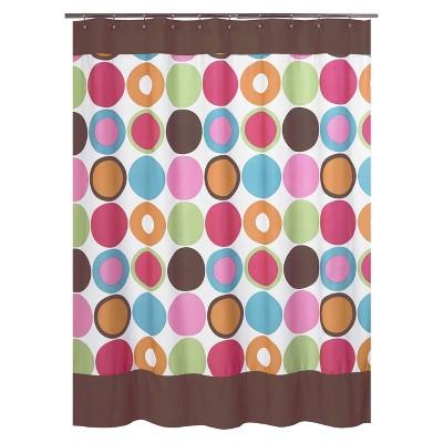 Sweet Jojo Designs Deco Dot Shower Curtain