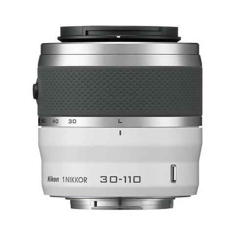 Nikon 1 Nikkor 30-110mm f/3.8-5.6 VR Zoom Lens - White