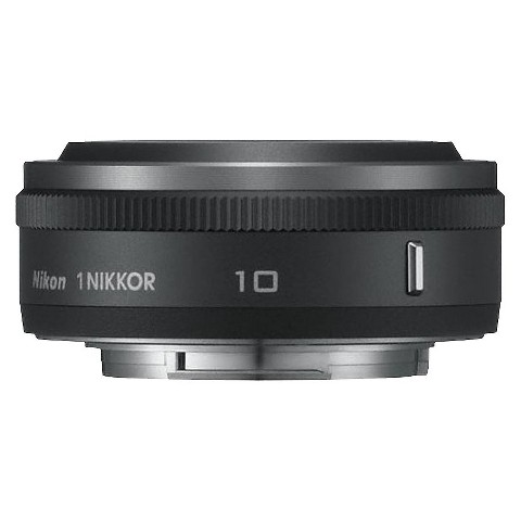 Nikon 1 Nikkor 10mm f/2.8 Fixed Lens - Black