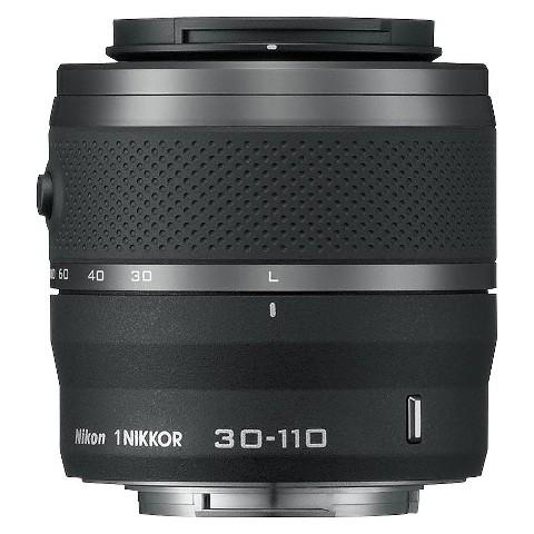 Nikon 1 Nikkor 30-110mm f/3.8-5.6 VR Zoom Lens - Black