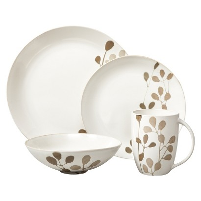 Threshold&#153 Heather Garden Dinnerware 16 piece set