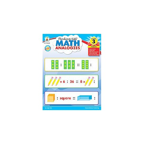 Thinking Kids' Math Analogies Grade 3 (Paperback)