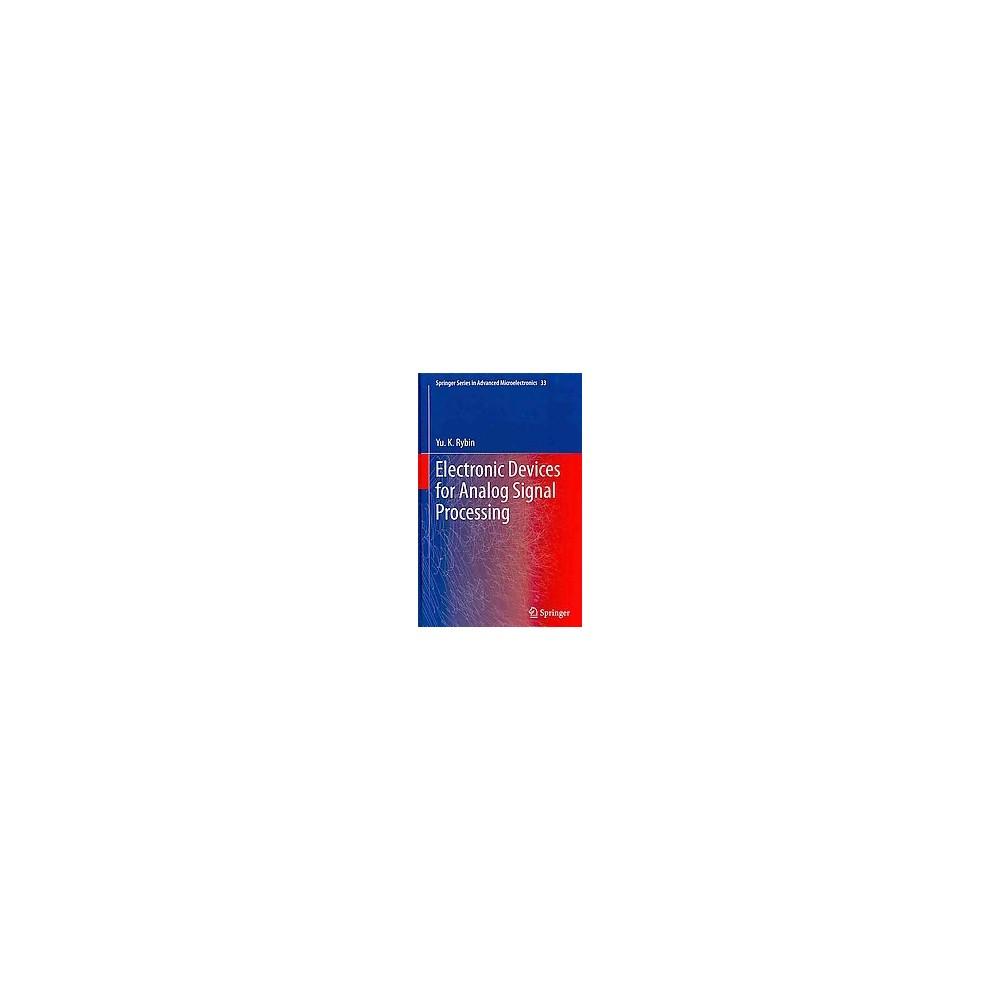 Pdf analog signal processing full book download electronic analog signal processing electronic devices for analog signal processing hardcover fandeluxe Choice Image