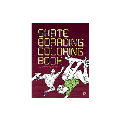 Skateboarding Coloring Book (Paperback)