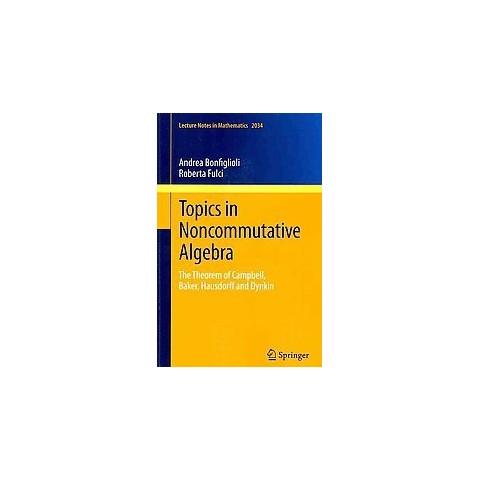 Topics in Noncommutative Algebra (Paperback)