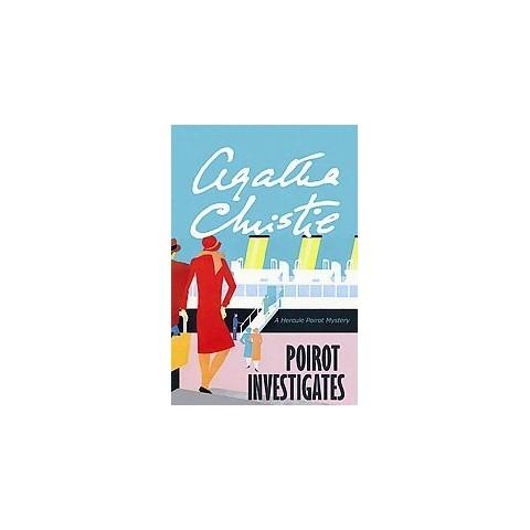 Poirot Investigates (Large Print) (Hardcover)