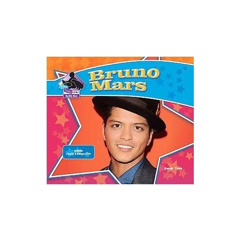 Bruno Mars: Popular Singer & Songwriter ( Big Buddy Biographies) (Hardcover)