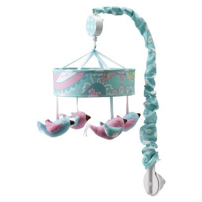Aqua Pixie Baby Musical Crib Mobile