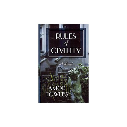 Rules of Civility (Large Print) (Hardcover)