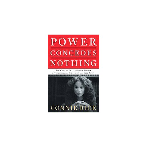 Power Concedes Nothing (Hardcover)