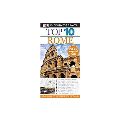 DK Eyewitness Travel Top 10 Rome (Reprint / Revised) (Mixed media product)