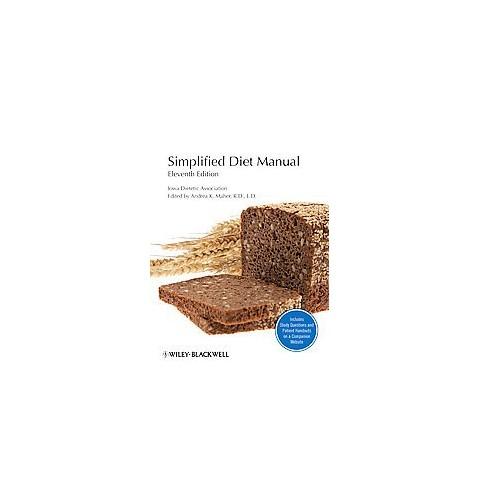 Simplified Diet Manual (Hardcover)