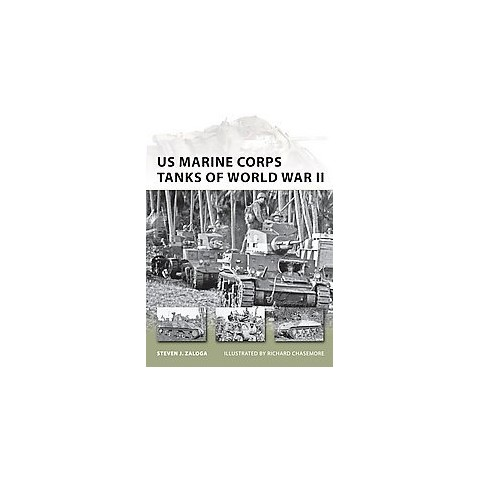 US Marine Corps Tanks of World War II (Paperback)