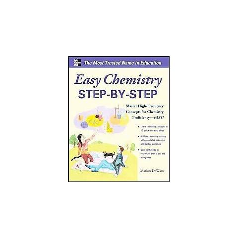 Easy Chemistry Step-by-step (Paperback)