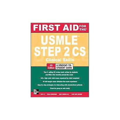 First Aid for the USMLE Step 2 CS (Paperback)