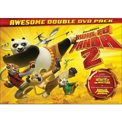 Kung Fu Panda 2/Kung Fu Panda: Secrets of the Masters (2 Discs) (Widescreen)