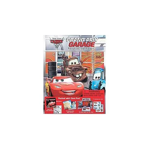 Cars 2 Grand Prix Garage ( Disney/Pixar Cars 2) (Hardcover)