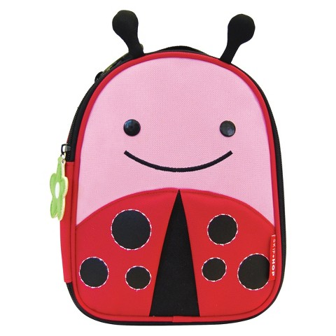 Skip Hop Zoo Lunchie Kids and Toddler Insulated Lunch Bag Ladybug
