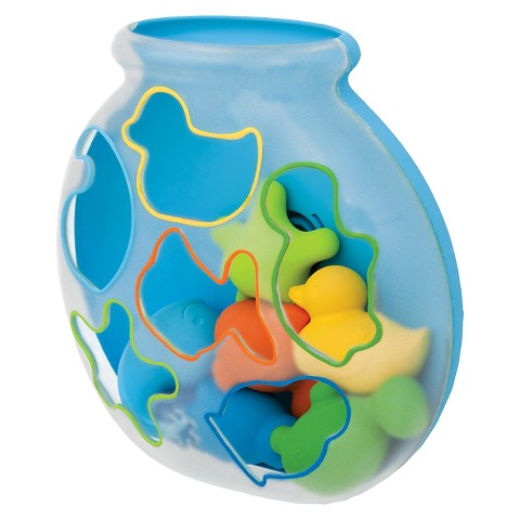 Skip Hop Sort & Spin Fishbowl Bath Toy Sorter