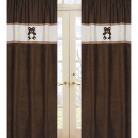 Sweet Jojo Designs Chocolate Teddy Bear Window Panels