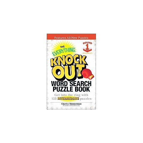 The Everything Knock Out Word Search Puzzle Book: Middleweight Round 1 (Paperback)