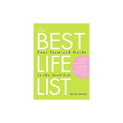 The Best Life List (Paperback)