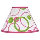 Sweet Jojo Designs Pink and Green Mod Circles Lamp Shade