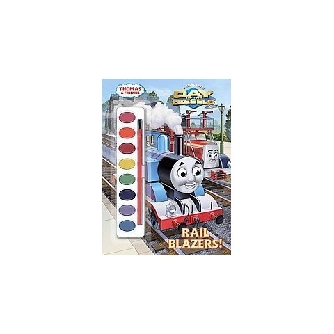 Rail Blazers! (Thomas & Friends) (Paint Box Book)(Paperback)