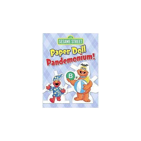 Sesame Street Paper Doll Pandemonium! (Paperback)