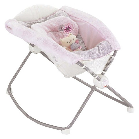 Fisher-Price Deluxe Newborn Rock 'n Play Sleeper - My Little Sweetie