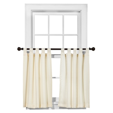 "Room Essentials™ Cafe Curtain Tiers Chesapeake Pair - (42x36"")"
