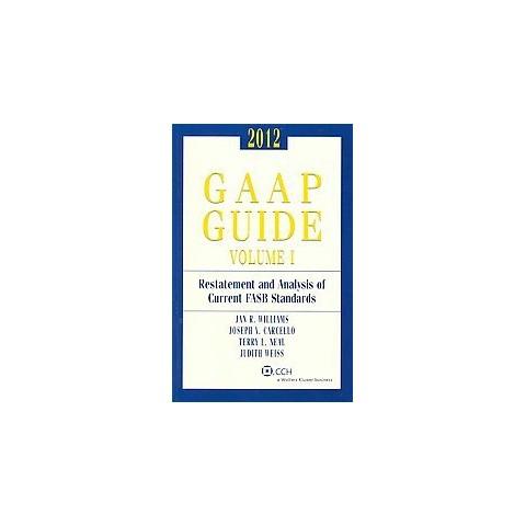 GAAP Guide 2012 (Paperback)