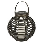 Threshold™ Rattan Solar Lantern (Medium)