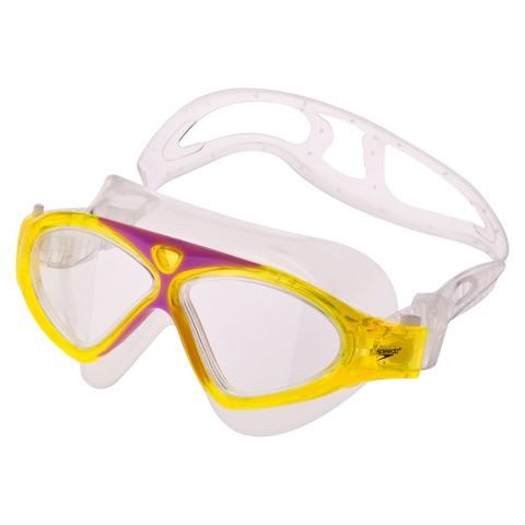 Speedo® Junior Hybrid Swim Mask - Yellow