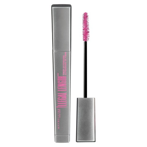 Maybelline® Illegal Length™ Fiber Extensions Washable Mascara - 0.22 oz