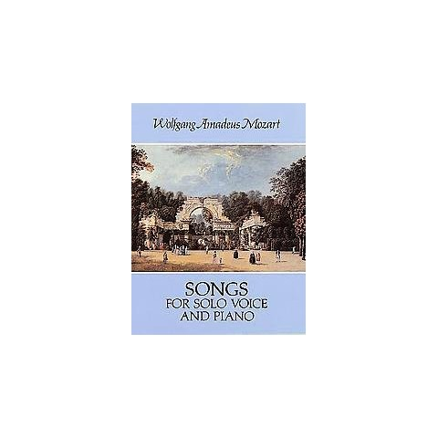 Songs for Solo Voice and Piano (Reprint) (Paperback)