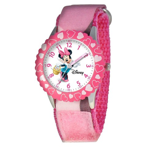 Disney Kid's Minnie Watch Pink